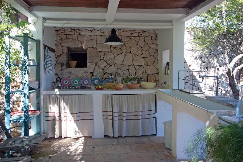 Salento dream case vacanza salento - Cucina sul terrazzo ...